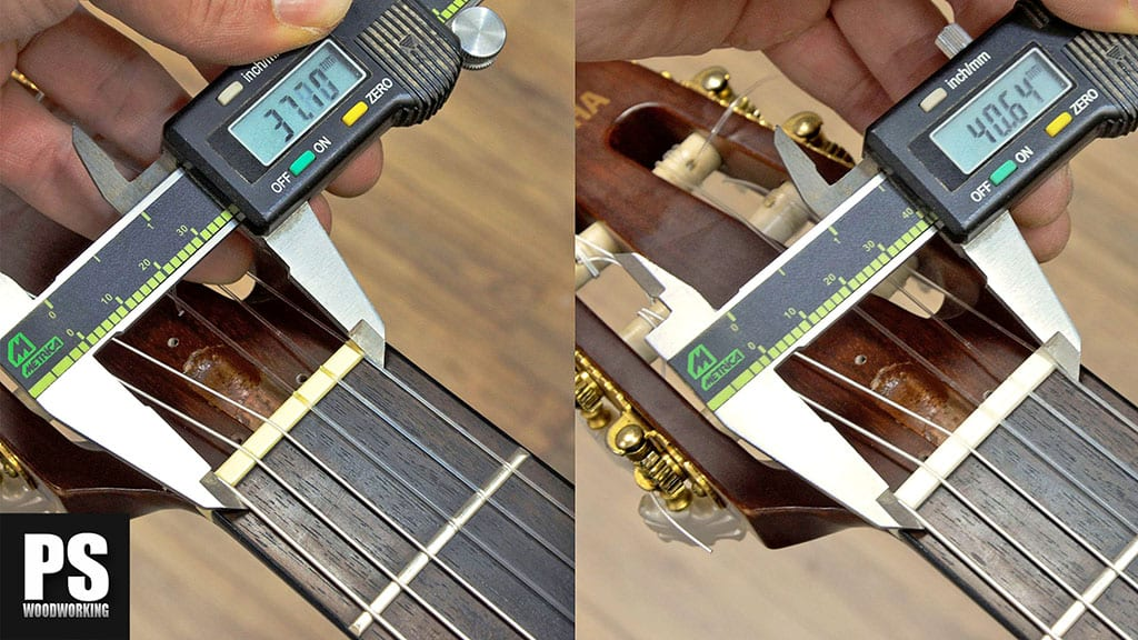 How-to-change-nut-classical-guitar