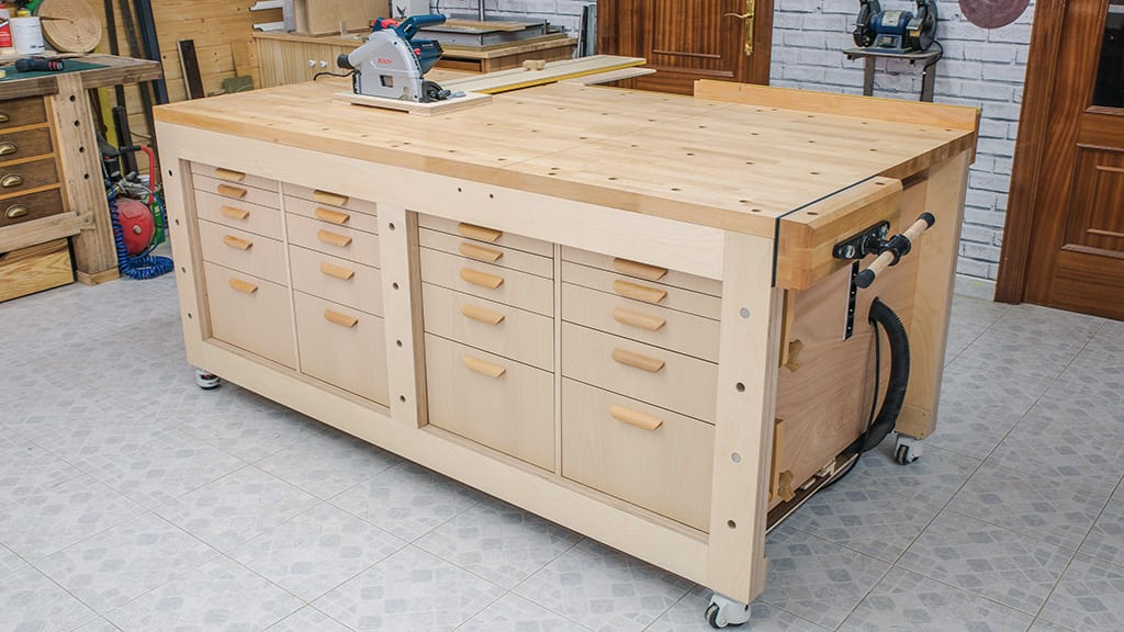 Diy-multi-function-workbench-front