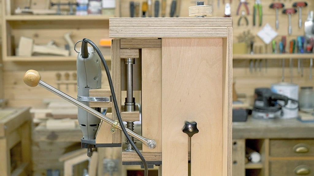 Diy-rotary-tool-worstation-router