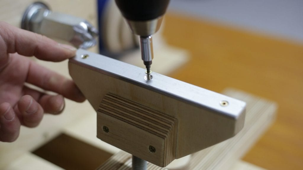 How-make-lathe-tool-rest-plywood